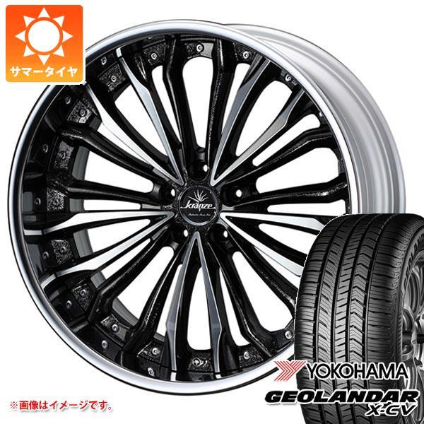 サマータイヤ 235/55R19 105W XL ヨコハマ ジオランダー X-CV G057 クレンツェ フェルゼン 8.0-19 タイヤホイール4本セット