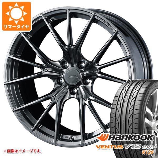 サマータイヤ 245/35R21 96Y XL ハンコック ベンタス V12evo2 K120 F ゼロ FZ-1 9.0-21 タイヤホイール4本セット