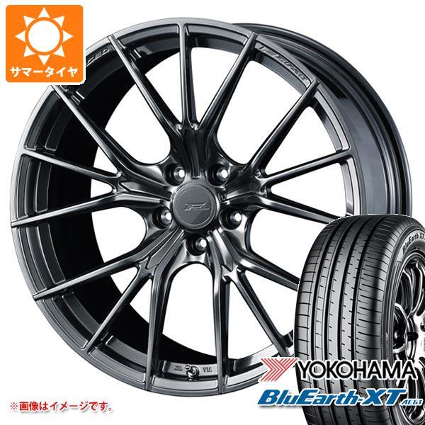 サマータイヤ 235/55R20 102V ヨコハマ ブルーアースXT AE61 F ゼロ FZ-1 8.5-20 タイヤホイール4本セット