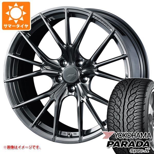 サマータイヤ 235/55R20 102V ヨコハマ パラダ スペック-X PA02 F ゼロ FZ-1 8.5-20 タイヤホイール4本セット