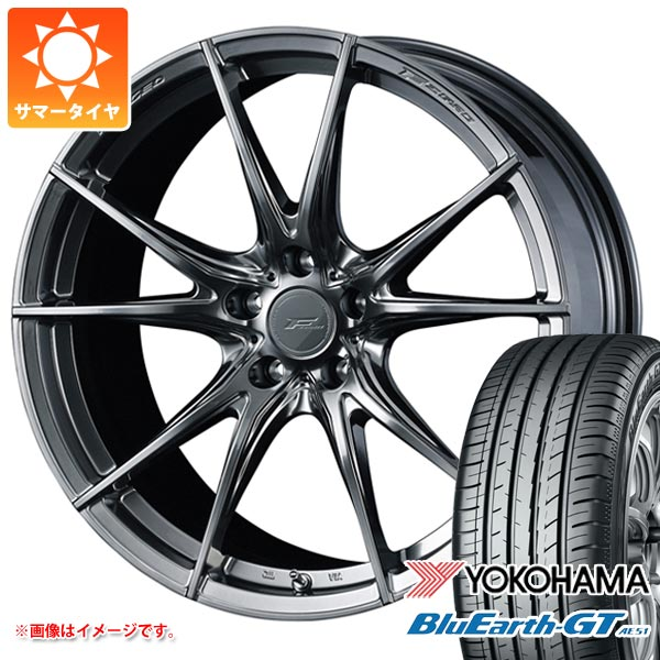 サマータイヤ 225/35R19 88W XL ヨコハマ ブルーアースGT AE51 F ゼロ FZ-2 8.0-19 タイヤホイール4本セット