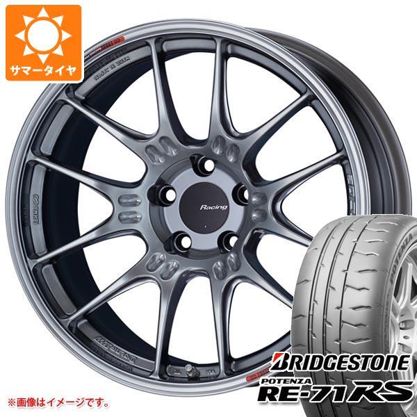サマータイヤ 265/35R18 97W XL ブリヂストン ポテンザ RE-71RS ENKEI エンケイ レーシング GTC02 9.0-18 タイヤホイール4本セット