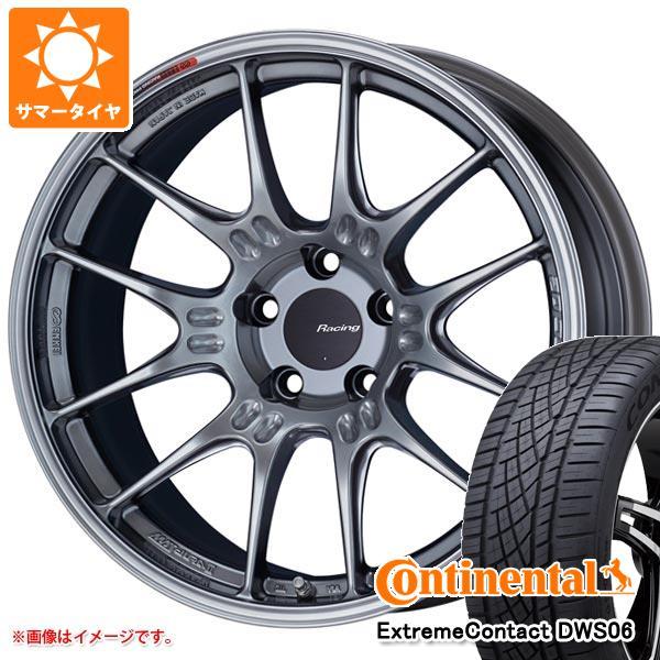 正規品 サマータイヤ 215/45R18 93Y XL コンチネンタル エクストリームコンタクト DWS06 ENKEI エンケイ レーシング GTC02 7.5-18 タイヤホイール4本セット