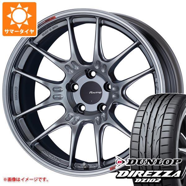 サマータイヤ 265/30R19 93W XL ダンロップ ディレッツァ DZ102 ENKEI エンケイ レーシング GTC02 9.0-19 タイヤホイール4本セット