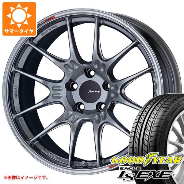 サマータイヤ 215/45R17 91W XL グッドイヤー イーグル LSエグゼ エンケイ レーシング GTC02 7.5-17 タイヤホイール4本セット
