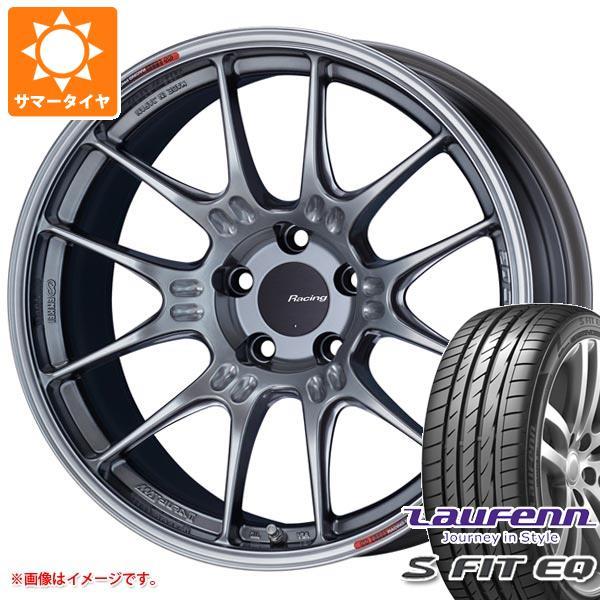 サマータイヤ 215/40R17 87W XL ラウフェン Sフィット EQ LK01 ENKEI エンケイ レーシング GTC02 7.5-17 タイヤホイール4本セット