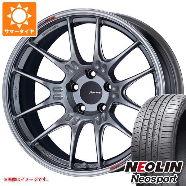 サマータイヤ 225/45R18 95W XL ネオリン ネオスポーツ ENKEI エンケイ レーシング GTC02 8.0-18 タイヤホイール4本セット
