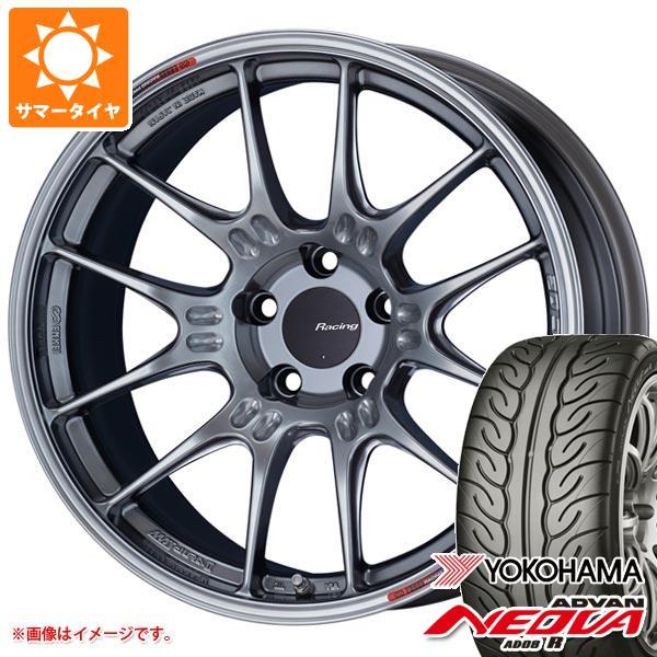 サマータイヤ 245/40R19 94W ヨコハマ アドバン ネオバ AD08 R ENKEI エンケイ レーシング GTC02 8.5-19 タイヤホイール4本セット
