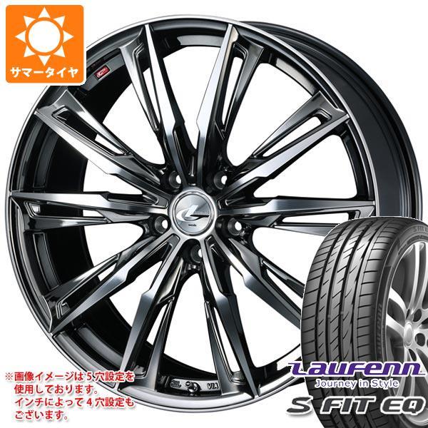 サマータイヤ 185/55R16 83V ラウフェン Sフィット EQ LK01 レオニス GX 6.0-16 タイヤホイール4本セット