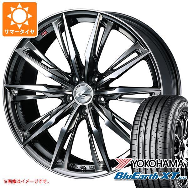 サマータイヤ 215/60R17 96H ヨコハマ ブルーアースXT AE61 レオニス GX BMCミラーカット 7.0-17 タイヤホイール4本セット