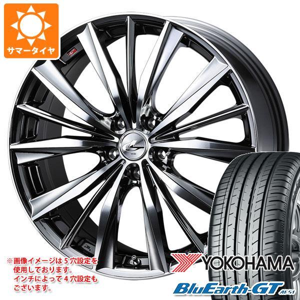 新品登場 サマータイヤ 245/40R19 98W XL ヨコハマ ブルーアースGT AE51 レオニス VX 8.0-19 タイヤホイール4本セット, Heartful 2863f6e6