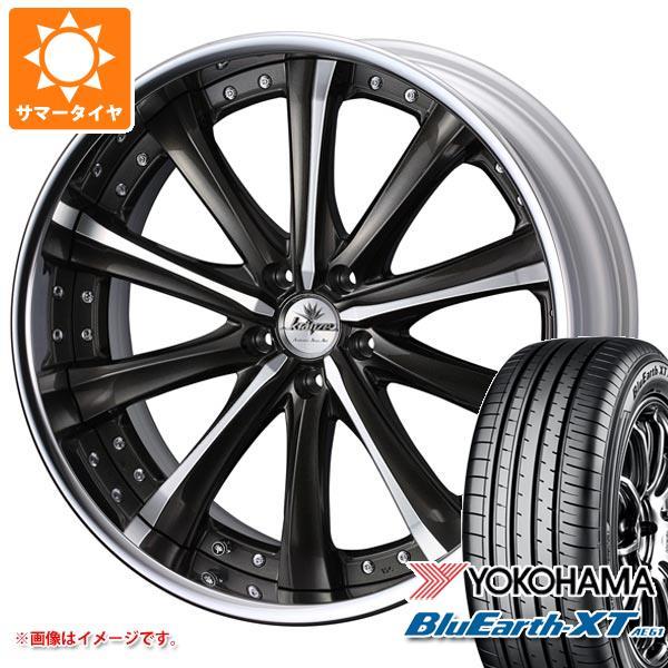 サマータイヤ 235/55R19 101V ヨコハマ ブルーアースXT AE61 クレンツェ マリシーブ 8.0-19 タイヤホイール4本セット