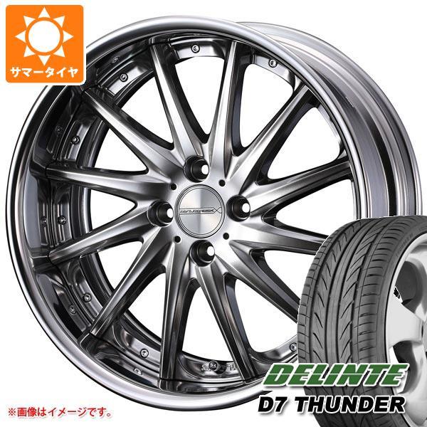 サマータイヤ 205/40R17 84W XL デリンテ D7 サンダー マーベリック 1212F 軽・コンパクトカー用 6.5-17 タイヤホイール4本セット