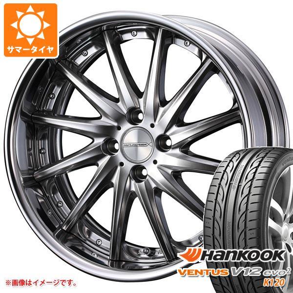 サマータイヤ 215/40R17 87Y XL ハンコック ベンタス V12evo2 K120 マーベリック 1212F 軽・コンパクトカー用 6.5-17 タイヤホイール4本セット