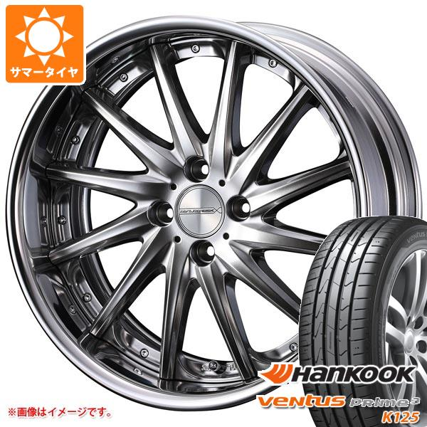 サマータイヤ 165/40R17 72V XL ハンコック ベンタス プライム3 K125 マーベリック 1212F 軽・コンパクトカー用 5.5-17 タイヤホイール4本セット