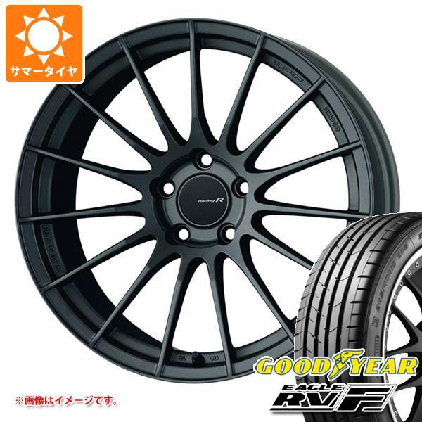 サマータイヤ 245/35R20 95W XL グッドイヤー イーグル RV-F ENKEI エンケイ レーシング レボリューション RS05RR 8.5-20 タイヤホイール4本セット