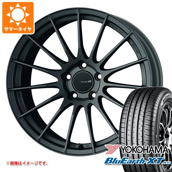 サマータイヤ 235/55R20 102V ヨコハマ ブルーアースXT AE61 ENKEI エンケイ レーシング レボリューション RS05RR 8.5-20 タイヤホイール4本セット