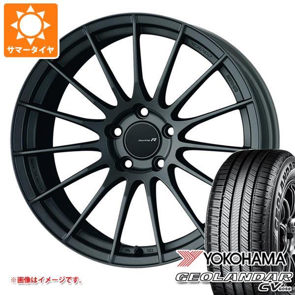 サマータイヤ 235/55R20 102V ヨコハマ ジオランダー CV ENKEI エンケイ レーシング レボリューション RS05RR 8.5-20 タイヤホイール4本セット