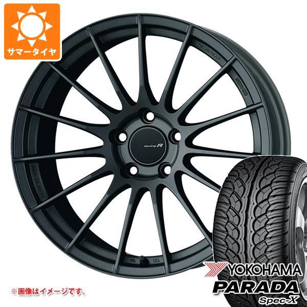 サマータイヤ 235/35R20 92W XL ヨコハマ パラダ スペック-X PA02 ENKEI エンケイ レーシング レボリューション RS05RR 8.5-20 タイヤホイール4本セット