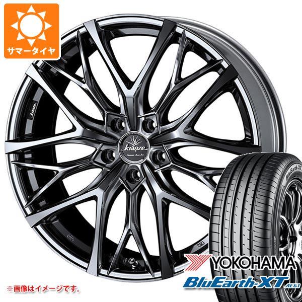サマータイヤ 235/55R20 102V ヨコハマ ブルーアースXT AE61 クレンツェ ウィーバル 100エボ 8.5-20 タイヤホイール4本セット