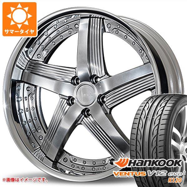 2020年製 サマータイヤ 245/35R21 96Y XL ハンコック ベンタス V12evo2 K120 アミスタット ライエン C010 8.5-21 タイヤホイール4本セット