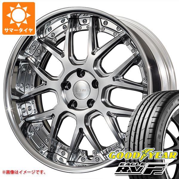 サマータイヤ 245/35R20 95W XL グッドイヤー イーグル RV-F アミスタット ライエン M07 8.5-20 タイヤホイール4本セット