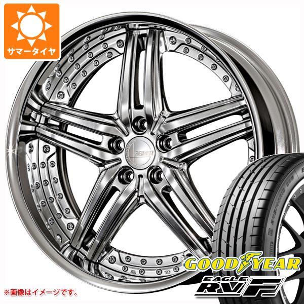 サマータイヤ 245/35R20 95W XL グッドイヤー イーグル RV-F アミスタット ライエン S05 8.5-20 タイヤホイール4本セット