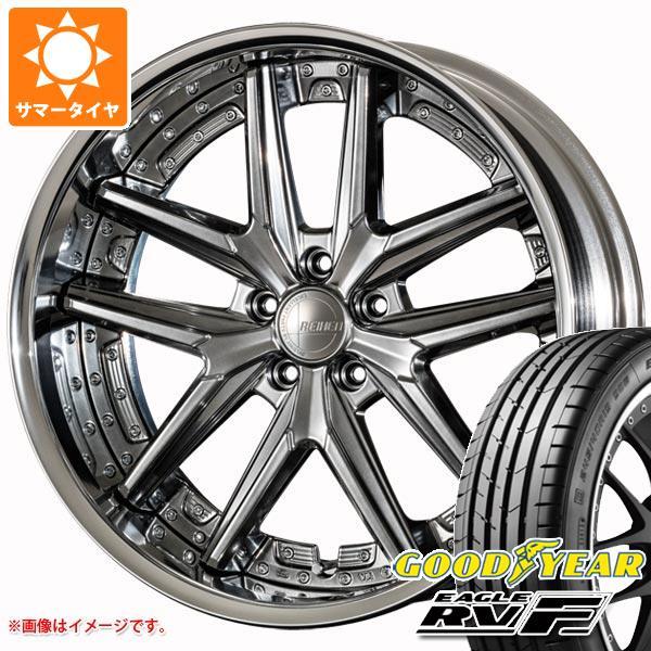 サマータイヤ 245/35R20 95W XL グッドイヤー イーグル RV-F アミスタット ライエン T025 8.5-20 タイヤホイール4本セット