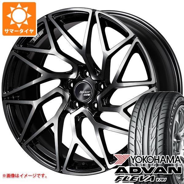 サマータイヤ 245/40R20 99W XL ヨコハマ アドバン フレバ V701 SSR ブリッカー 01T 8.5-20 タイヤホイール4本セット