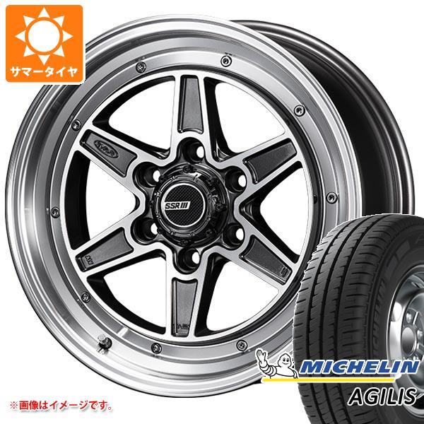 サマータイヤ 215/65R16 109/107T ミシュラン アジリス SSR ディバイド マークシックス 200系ハイエース 6.5-16 タイヤホイール4本セット