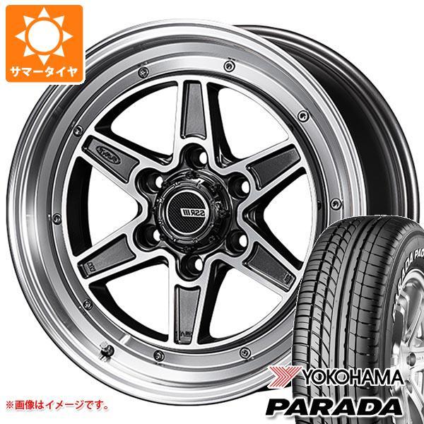 サマータイヤ 215/60R17 109/107S ヨコハマ パラダ PA03 SSR ディバイド マークシックス 200系ハイエース 6.5-17 タイヤホイール4本セット