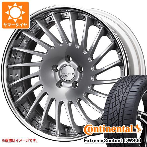 サマータイヤ 245/45R19 98Y コンチネンタル エクストリームコンタクト DWS06 SSR エグゼキューター CV05 8.5-19 タイヤホイール4本セット