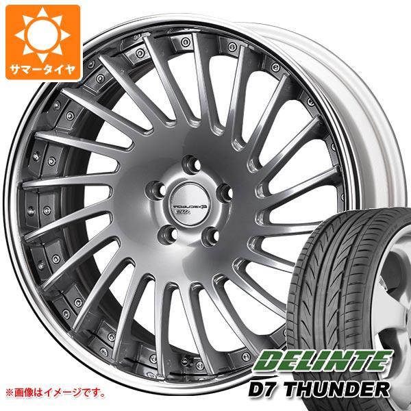 サマータイヤ 245/40R20 99W XL デリンテ D7 サンダー SSR エグゼキューター CV05 8.5-20 タイヤホイール4本セット