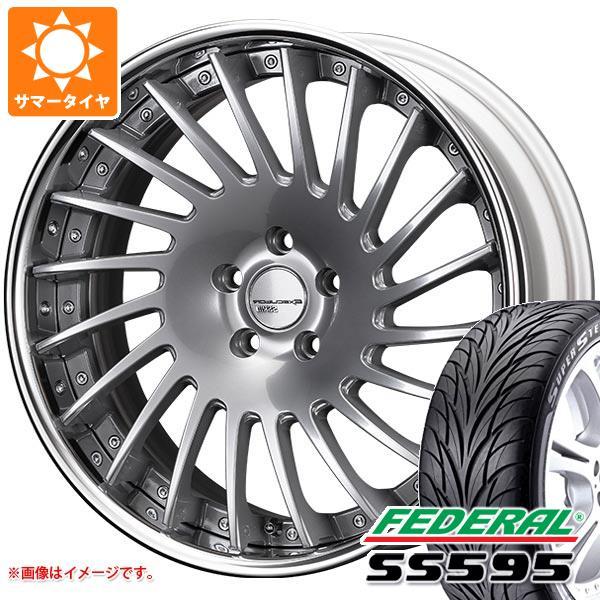 サマータイヤ 225/35R19 84W フェデラル SS595 SSR エグゼキューター CV05 8.0-19 タイヤホイール4本セット