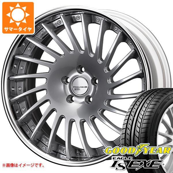 サマータイヤ 245/35R20 95W XL グッドイヤー イーグル LSエグゼ SSR エグゼキューター CV05 8.5-20 タイヤホイール4本セット