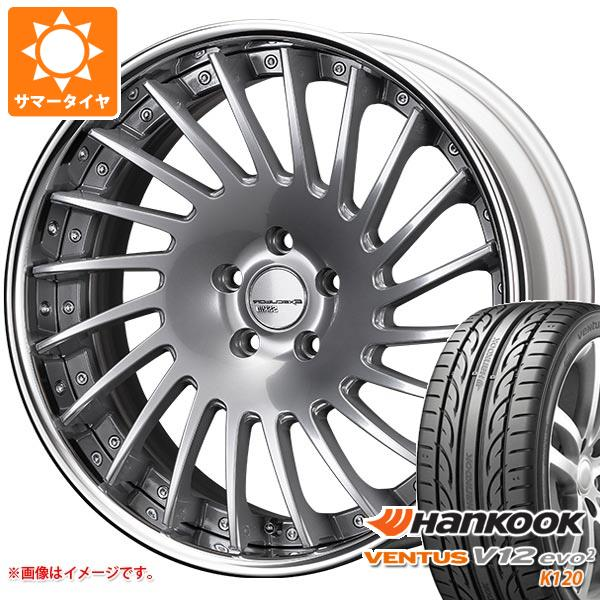 サマータイヤ 225/35R20 90Y XL ハンコック ベンタス V12evo2 K120 SSR エグゼキューター CV05 8.0-20 タイヤホイール4本セット