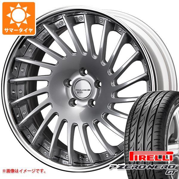 正規品 サマータイヤ 235/35R19 (91Y) XL ピレリ P ゼロ ネロ GT SSR エグゼキューター CV05 8.0-19 タイヤホイール4本セット