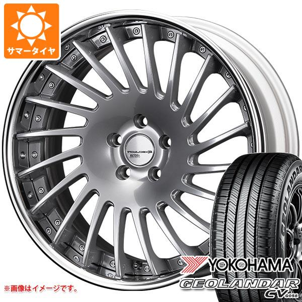 サマータイヤ 235/50R19 103V XL ヨコハマ ジオランダー CV SSR エグゼキューター CV05 8.0-19 タイヤホイール4本セット