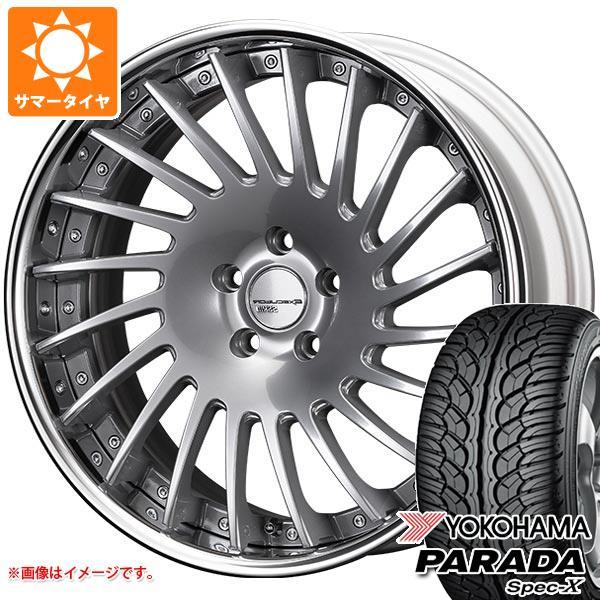 サマータイヤ 255/40R20 101V REINF ヨコハマ パラダ スペック-X PA02 SSR エグゼキューター CV05 9.0-20 タイヤホイール4本セット