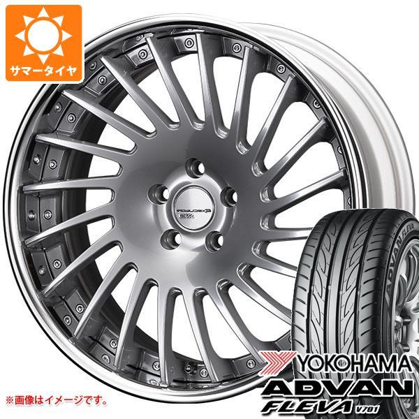 サマータイヤ 225/35R19 88W XL ヨコハマ アドバン フレバ V701 SSR エグゼキューター CV05 8.0-19 タイヤホイール4本セット