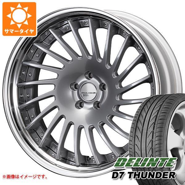 サマータイヤ 245/40R20 99W XL デリンテ D7 サンダー SSR エグゼキューター CV05S 8.5-20 タイヤホイール4本セット