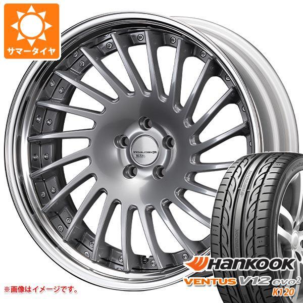サマータイヤ 245/45R20 103Y XL ハンコック ベンタス V12evo2 K120 SSR エグゼキューター CV05S 8.5-20 タイヤホイール4本セット