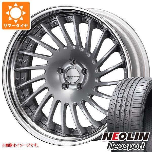 サマータイヤ 245/30R20 95W XL ネオリン ネオスポーツ SSR エグゼキューター CV05S 8.5-20 タイヤホイール4本セット