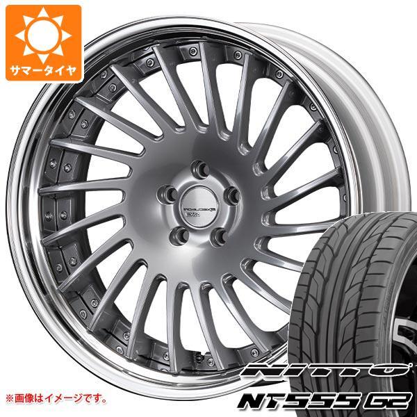 サマータイヤ 235/35R20 92Y XL ニットー NT555 G2 SSR エグゼキューター CV05S 8.5-20 タイヤホイール4本セット