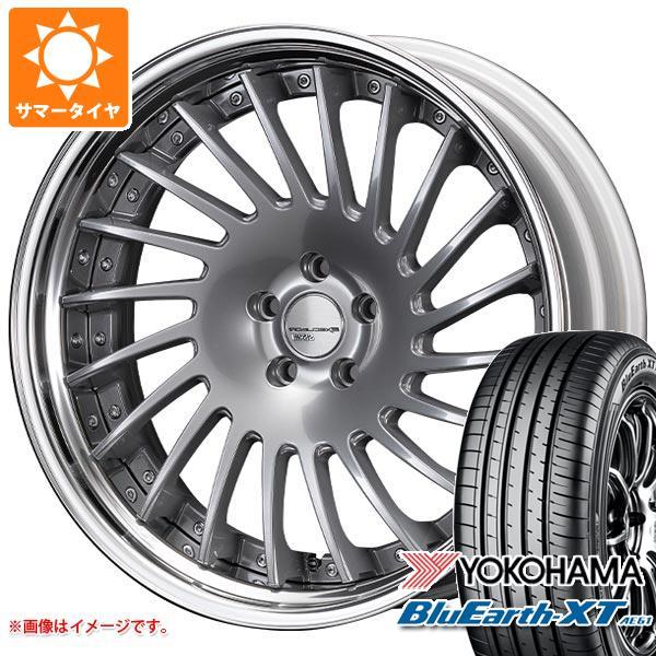 サマータイヤ 235/55R20 102V ヨコハマ ブルーアースXT AE61 SSR エグゼキューター CV05S 8.5-20 タイヤホイール4本セット