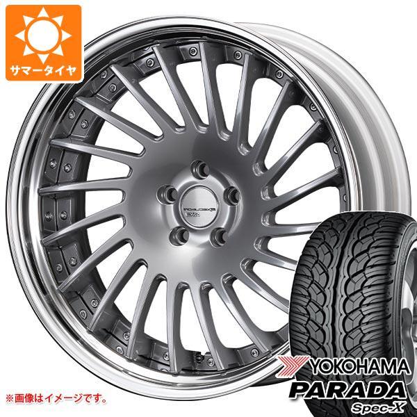 サマータイヤ 245/50R20 102V ヨコハマ パラダ スペック-X PA02 SSR エグゼキューター CV05S 8.5-20 タイヤホイール4本セット