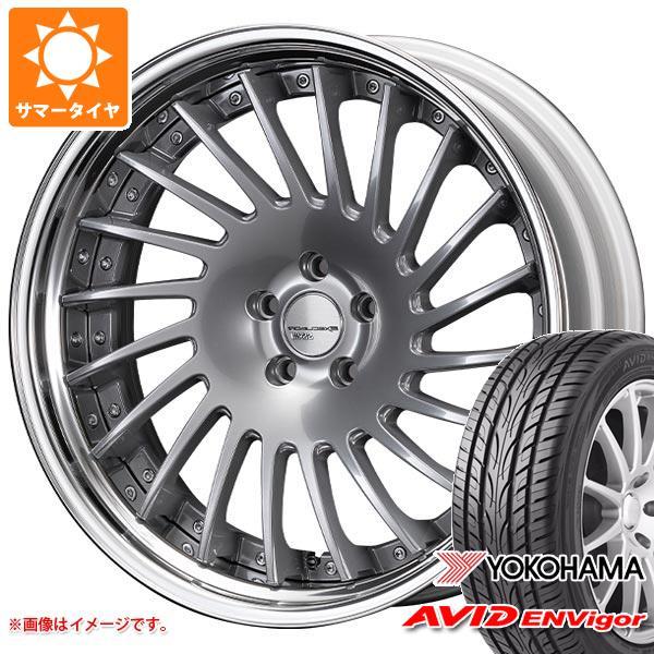サマータイヤ 245/35R20 95W ヨコハマ エービッド エンビガー S321 SSR エグゼキューター CV05S 8.5-20 タイヤホイール4本セット