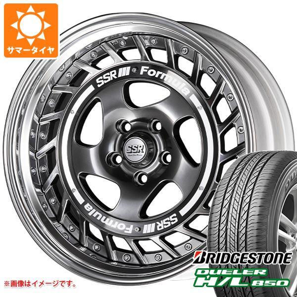サマータイヤ 235/55R18 100V ブリヂストン デューラー H/L850 SSR フォーミュラ エアロスポーク 8.0-18 タイヤホイール4本セット
