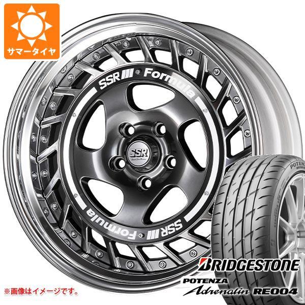 サマータイヤ 245/40R18 97W XL ブリヂストン ポテンザ アドレナリン RE004 SSR フォーミュラ エアロスポーク 8.0-18 タイヤホイール4本セット