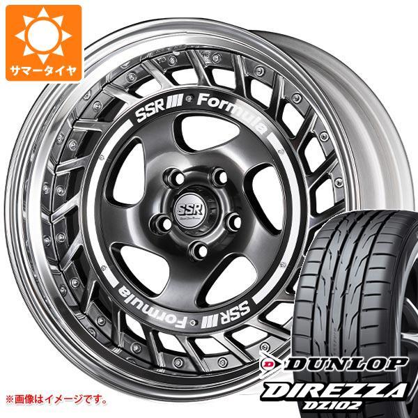 サマータイヤ 245/35R19 93W XL ダンロップ ディレッツァ DZ102 SSR フォーミュラ エアロスポーク 8.5-19 タイヤホイール4本セット